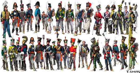 Dutch Belgians Waterloo 1815