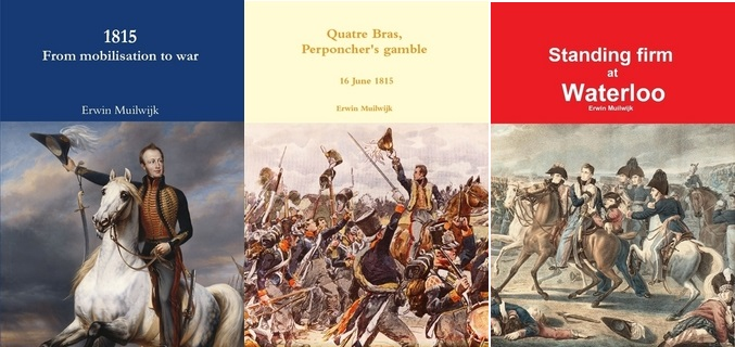 Dutch Belgians Waterloo campaign books